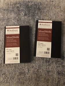 2 STRATHMORE 567-5 500 SERIES ST SOFT COVER MIXED MEDIA JOURNALS
