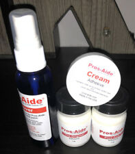 Pros-Aide Professional Strong Adhesive Original Kit + Remover + Cream Makeup FX