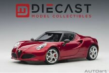 AUTOART 70142 ALFA ROMEO 4C SPIDER (COMPETITION RED) 1:18TH SCALE