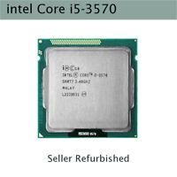 Intel Core i5-3570 i5 3570 CPU 6M 3.4GHz 77W 22nm Socket LGA 1155 Processor ARMG