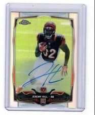 2014 TOPPS CHROME AUTO VARIATION#125 JEREMY HILL SER#65/75