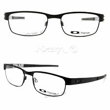 Oakley METAL PLATE OX5038-0555 Matte Black Titanium Eyeglasses - New Authentic