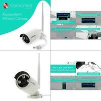 wireless add-on standard surveillance camera for cvt9608e-3010w (replacemen