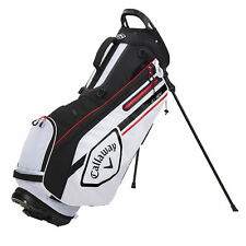 New listing Callaway Chev Stand Golf Bag - White/Black/Fire - New 2021