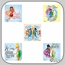 Tinker Bell Stickers x 5 - Fairies Stickers -Tinkerbell Party Favours Pixie Dust