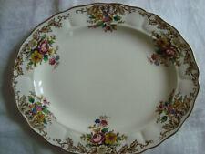 """Vintage GRINDLEY MARLBOROUGH  'Penrose'  14"""" Oval Meat/Serving PLATE"""