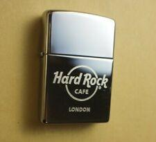 HARD ROCK CAFE LONDON CHROME ORIGINAL ZIPPO LIGHTER