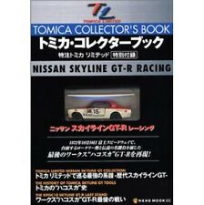 Tomica NISSAN SKYLINE GT-R RACING Tomica Collector book w/Figure