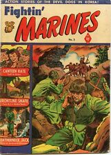 Fightin' Marines #3 Comic Book GD+ 2.5 St. John 1951 See My Store