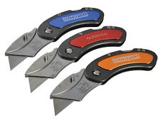 FAITHFULL Work Folding Trimming Pocket Utility Lock Knife No Blades,FAITKUTILITY