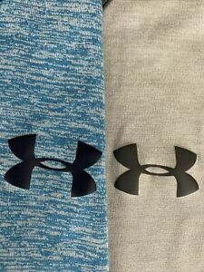 LOT OF 2 UNDER ARMOUR THE TECH TANK TOP TEE T SHIRTS Mens XL Blue & Gray