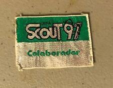 Boy Scout Chile, world Jamboree in Korea Patch, 1991, RIFA