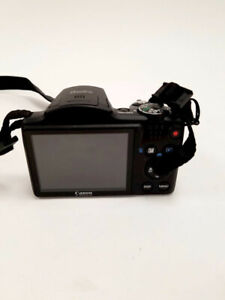 "Canon PowerShot SX500 IS 16.0MP Optical Zoom 3"" LDC Digital Camera - Bridge"