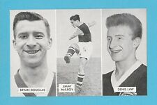 FOOTBALL - D.C. THOMSON -  CUP - TIE  STARS  OF  ALL  NATIONS  CARD  (L) -  1962