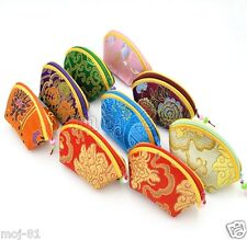Wholesale 10pcs Chinese Handmade Silk Jewelry Pouches /Purse /Gift Bags /Wallet