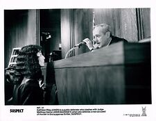 Cher & John Mahoney Suspect Unsigned Glossy 8x10 Movie Promo Photo (A)