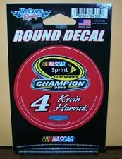 "KEVIN HARVICK #4 2014 CHAMPION CUP SERIES WINCRAFT 3"" ROUND DECAL STICKER"