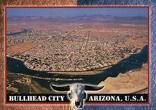 Aerial View of Bullhead City Arizona, Colorado River, Laughlin Nevada - Postcard