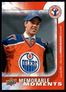 2015-16 Upper Deck National Hockey Card Day Canada #CAN16 Connor McDavid MM