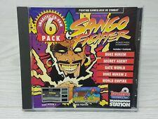 Imagination Station Duke Nukem 1 & 2 Vintage PC Games 6 Game Pack Sango Fighter