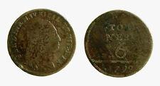 pcc2137_13) Napoli Fedinando IV (1759-1816) - 6 Tornesi  1799