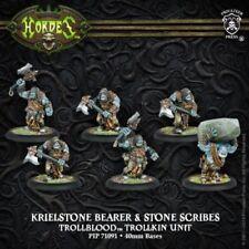 Hordes Trollbloods Krielstone Bearer & Stone Scribes NIB