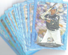 2013 BOWMAN DRAFT BLUE WAVE LOT 13 CARDS - OZUNA, SKAGGS, BUNDY, ALMORA, CLARKIN