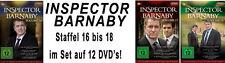 12 DVDs * INSPECTOR BARNABY  - VOLUME 16 - 18 IM SET # NEU OVP &