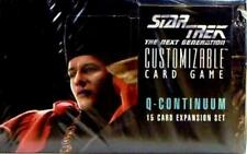 Star Trek Next Generation Q-Continuum CCG Booster Box Decipher STNG New FS