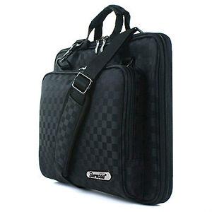"HP 10"" 10.1"" Laptop PC Case Sleeve Memory Foam Bag Checked i"