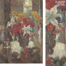 """Image 16""""x24"""" STILL LIFE BY WINDOW by LOUISA LI NUMBERED #42/950 w/SIGNATURE S/N"""