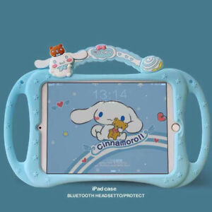 Cinnamoroll Handle Portable Silica Gel Soft Bracket TabletCase For Apple iPad 56