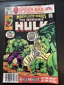 "tThe Incredible Hulk #104 MARVEL COMICS ""It's Hulk v.s. Hulk"""