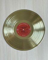 Bob Dylan - Blonde On Blonde 1966 Gold Vinyl Record