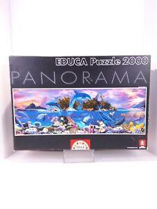 Educa 2000 Panorama Piece Jigsaw PuzzleMarine Life Free Shipping