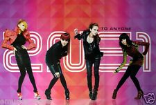 "2NE1 ""TO ANYONE-GIRLS WEARING SEXY OUTFITS"" KOREAN PROMO POSTER- K-Pop Girl Band"