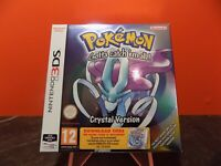 Pokemon Crystal Nintendo 3DS Boxed Download PAL NN016-NN019