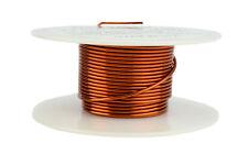 TEMCo Magnet Wire 17 AWG Gauge Enameled Copper 200C 2oz 20ft Coil Winding