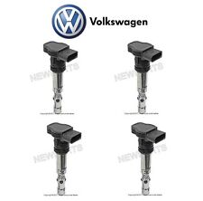 For Audi A4 TT Quattro VW Passat Golf Jetta Beetle Set of 4 Ignition Coils OES