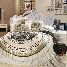Versace Medusa Luxurious 4pcs LARGE Queen 100% Cotton bedding