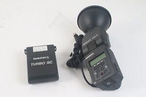 Quantum T5d-R Qflash Portable Numérique Avec / Réflecteur,Turbo Sc Batterie Pack