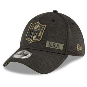 NFL Shield Salute to Service New Era 3930 Flex Fit Hat Cap Logo Referee U.S.A.
