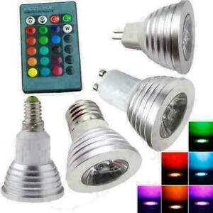 5W GU10 RGB LED Light Bulb Color Change Spotlight Halloween Christmas PartyDecor