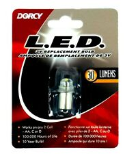 41-1643 DORCY 30 Lumen 3V LED Replacement Light Bulb for 2 Cell AA/C flashlight