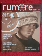 Rivista RUMORE 126-127/2002 Flaming Lips Primal Scream Jerry Cantrell  No cd *