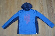 THe North Face Boys Blue Hoodie Size XL lkNEW