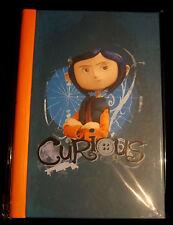 CORALINE Curious Journal - Notizbuch (Tagebuch) (Tim Burton)