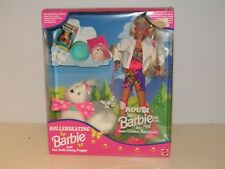 Rollerskating Barbie and her Roll-Along Puppy 12098 Canada Zeller's New/ Sealed