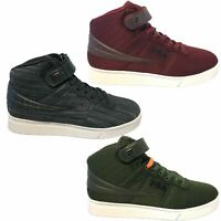 Fila Mens Vulc 13 Mid Plus MP WOVEN Casual Ankle Strap Shoes