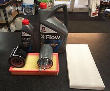 FORD CONNECT 1.8 TDCI SERVICE KIT OIL AIR FUEL CABIN FILTERS 6 LITRES OIL XFLOW
